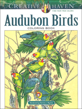 Audubon Birds Coloring Book (Creative Haven)