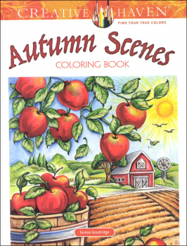 Autumn Scenes Coloring Book (Creative Haven)