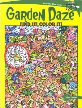 Garden Daze: Find It! Color It! (Dover Spark)