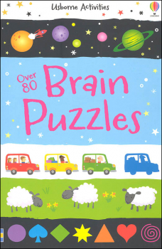 Over 80 Brain Puzzles (Activity Puzzle Books)