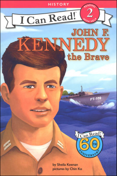 John F. Kennedy the Brave (I Can Read! Reading with Help 2)