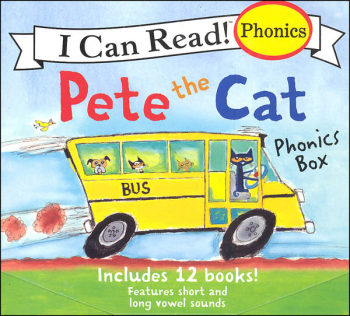 Pete the Cat Phonics Box (I Can Read! Phonics)