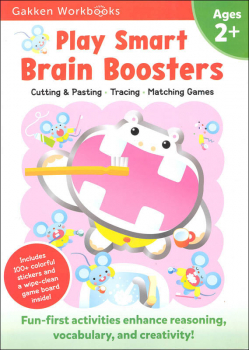 Play Smart Brain Boosters Workbook Age 2+