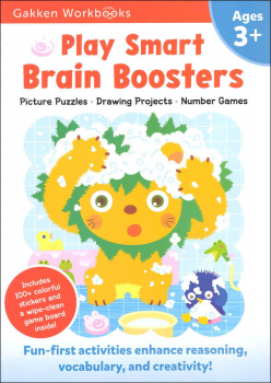 Play Smart Brain Boosters Workbook Age 3+