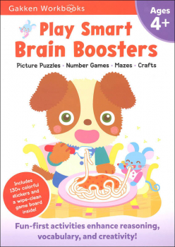 Play Smart Brain Boosters Workbook Age 4+
