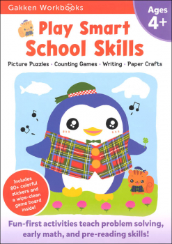 Play Smart School Skills Workbook Age 4+