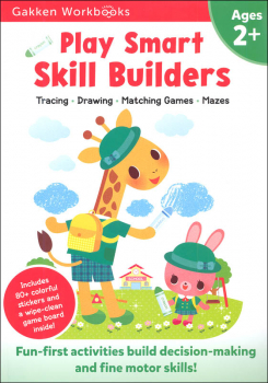 Play Smart Skill Builders Workbook Age 2+