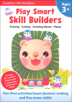 Play Smart Skill Builders Workbook Age 3+