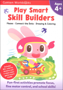 Play Smart Skill Builders Workbook Age 4+