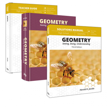 Geometry Curriculum Pack 3rd Edition (Jacobs)