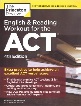 English and Reading Workout for the ACT (4ED)