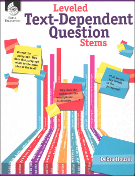 Leveled Text-Dependent Question Stems - Language Arts