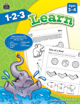 1-2-3 Learn - Ages 3-4