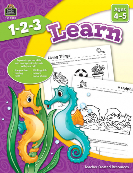 1-2-3 Learn - Ages 4-5