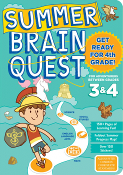 Summer Brain Quest - Between Grades 3 & 4