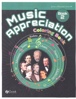 Music Appreciation: Book 2 Coloring Book