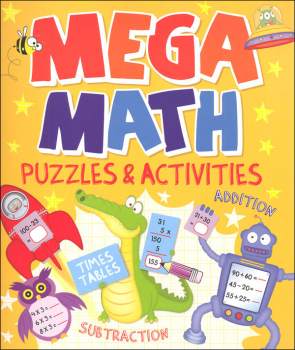Mega Math Puzzles & Activities