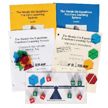 Hands-On Equations Fractions Learning System