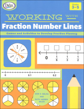 Working with Fraction Number Lines