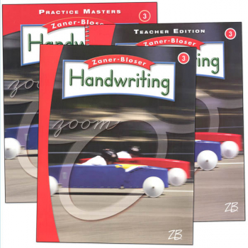 Zaner-Bloser Handwriting Grade 3 Homeschool Bundle-Student Edition/Teacher Edition/Practice Masters (2016 edition)
