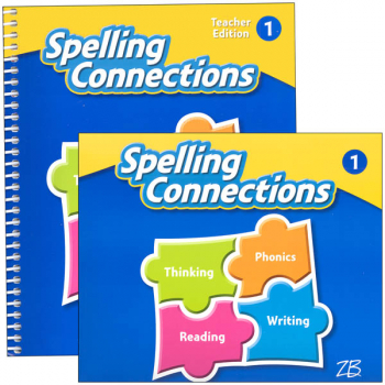 Zaner-Bloser Spelling Connections Grade 1 Homeschool Bundle (2016 edition)