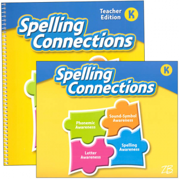Zaner-Bloser Spelling Connections Grade K Homeschool Bundle (2016 edition)