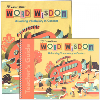 Zaner-Bloser Word Wisdom Grade 4 Homeschool Bundle (2017 Edition)