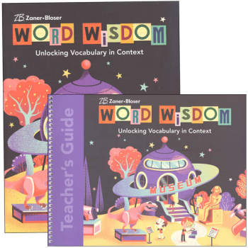Zaner-Bloser Word Wisdom Grade 5 Homeschool Bundle (2017 Edition)