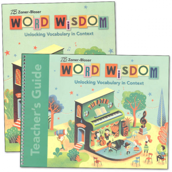 Zaner-Bloser Word Wisdom Grade 6 Homeschool Bundle (2017 Edition)