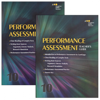 English Language Arts Performance Task Reseller Package Grade 10