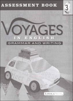 Voyages in English 2018 Grade 3 Assessment Book