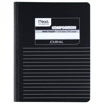 Mead Square Deal Black Marble Journal Composition Book 100 Sheets