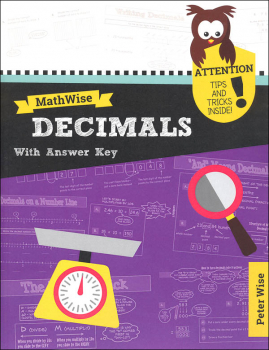 MathWise Decimals with Answer Key