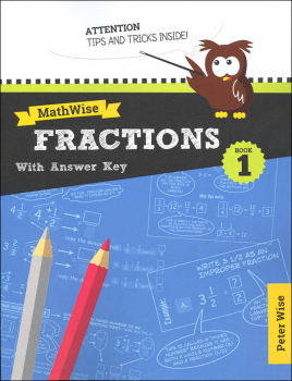 MathWise Fractions Book 1 with Answer Key
