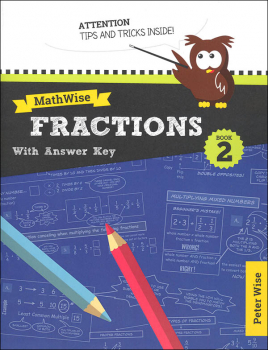 MathWise Fractions Book 2 with Answer Key
