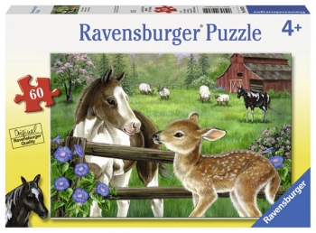 New Neighbors Puzzle (60 pieces)