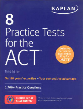8 Practice Tests for the ACT 3rd Edition