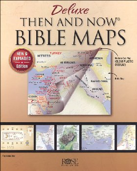 Deluxe Then and Now Bible Maps (New & Expanded)