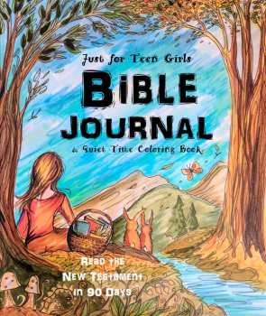 Just for Teen Girls - Bible Journal & Quiet Time Coloring Book