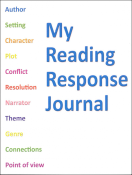 My Reading Response Journal - 32 pages