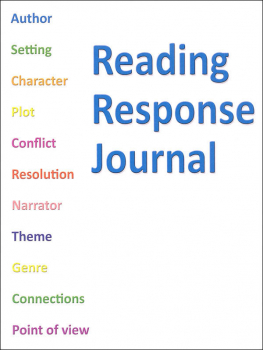 Reading Response Journal - 64 pages