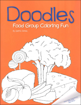 Doodles Food Group Coloring Fun