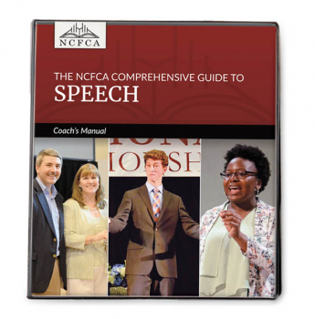 NCFCA Comprehensive Guide to Speech: Coach's Manual
