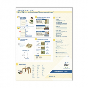 Student Resource Packet