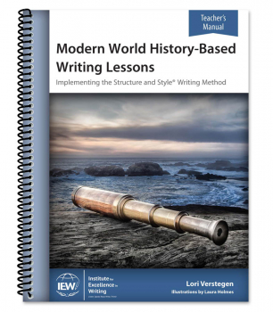 Modern World History-Based Writing Lessons Teacher's Manual