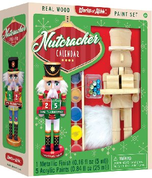 Nutcracker Calendar Wood Painting Kit (Works of Ahhh?)