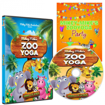 Mikey Mike's Zoo Yoga DVD & Book