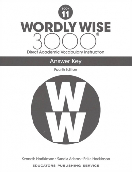 Wordly Wise 3000 4th Edition Key Book 11