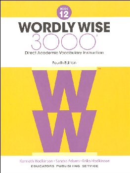 Wordly Wise 3000 4th Edition Student Book 12