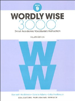 Wordly Wise 3000 4th Edition Student Book 9